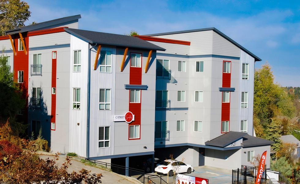 C St Apartment stormwater design