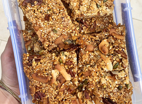 This Muesli Bar Will Be Your New Favourite (Healthy) Snack.