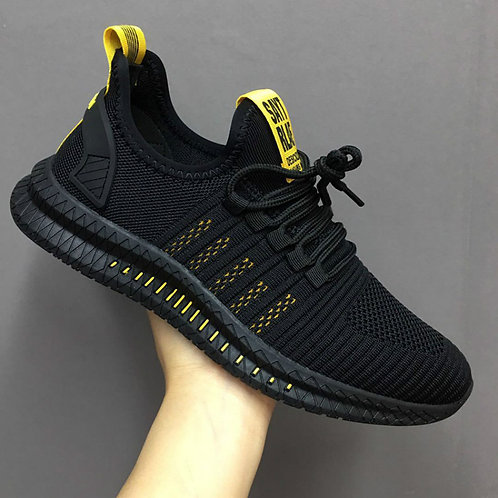 Fashion Sneakers Mesh Casual Shoes Lac-Up Mens Shoes Lightweight Walking Sneaker