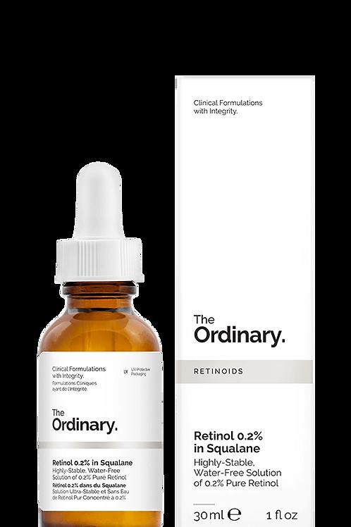 The Ordinary Retinol 0.2% in Squalane -30ml