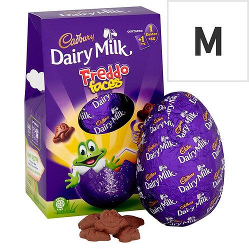 Cadbury Dairy Milk Freddo Faces Medium Easter Egg 122G