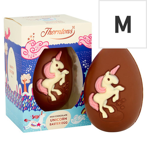 Thorntons Milk Chocolate Unicorn Egg 151G