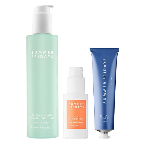 SUMMER FRIDAYS The Essentials Trio( 150ml, 64g, 30ml )