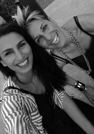 With friend and model@zarya_azadi at Berlin