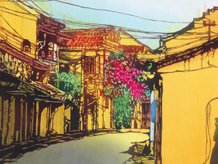 Viet Nam through Toba Mika's katazome paintings