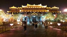 Hue city halts night tour due to rain