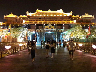 Hue city halts night tour due to rain