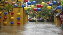 Floods swamp Vietnam ahead of APEC summit