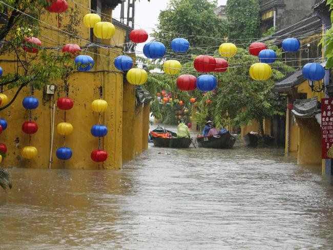Flooding in Hoi An 2017