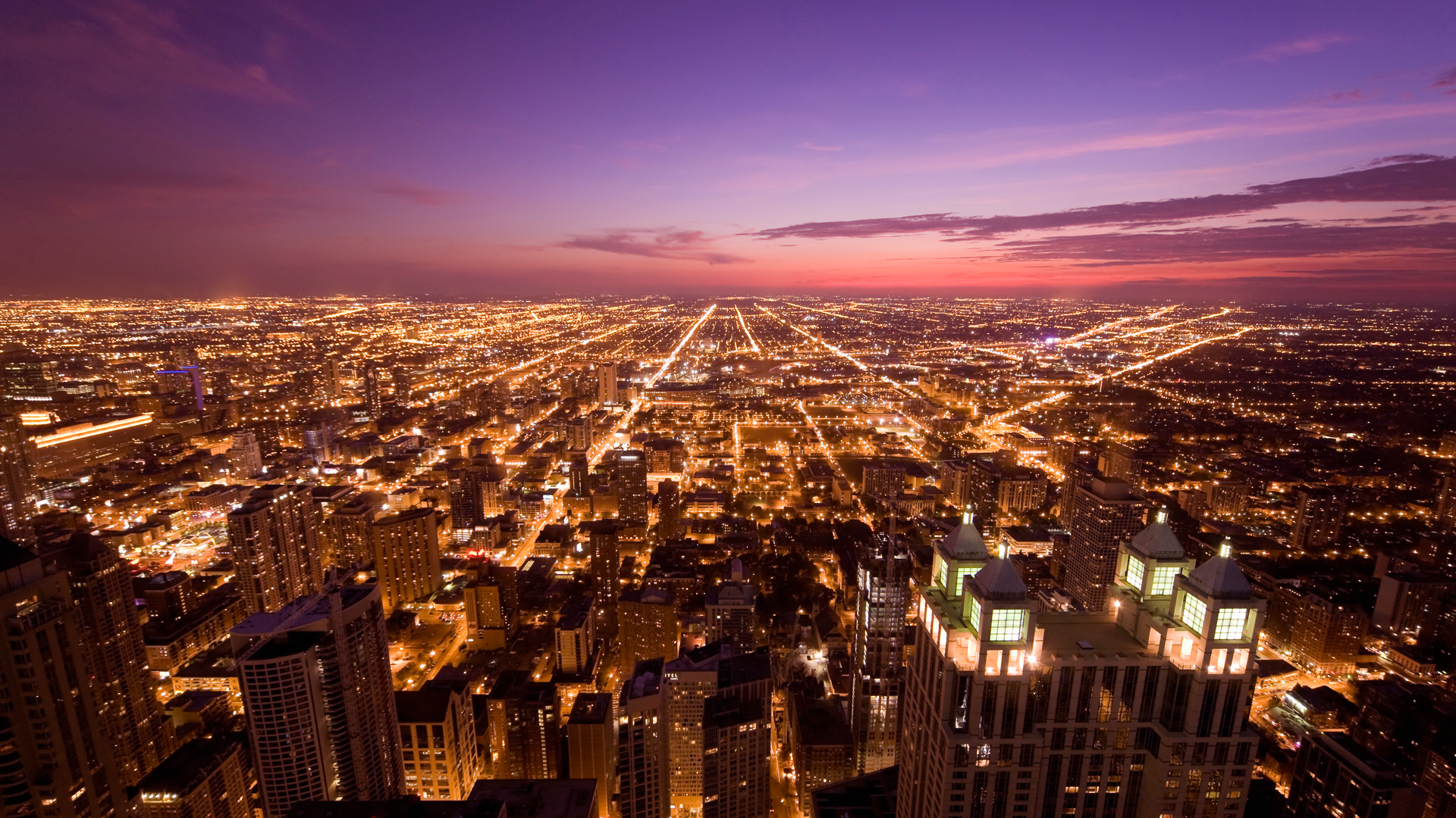 시카고 야경