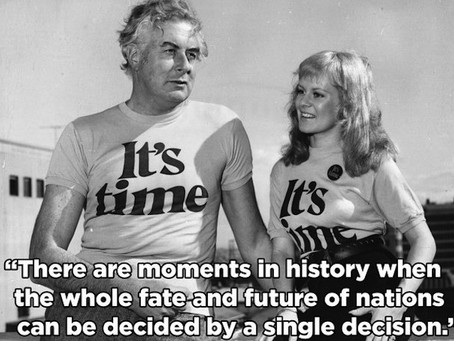 Wimmin and Whitlam'slegacy