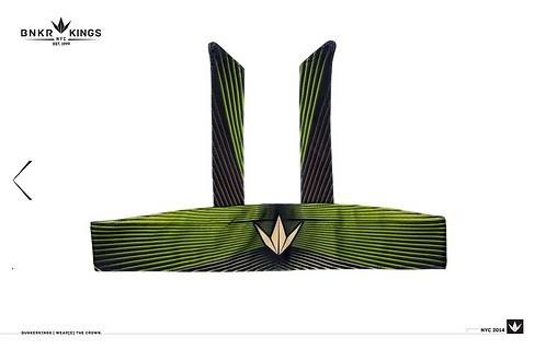 Woodstripe Head Tie