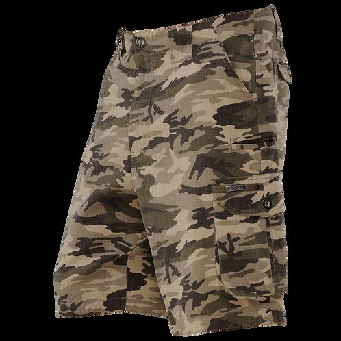 Dye Camo Cargo Shorts