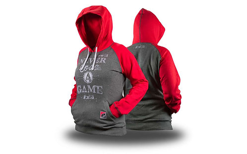 Eclipse Womens Triumph Hoody Red/Charcoal