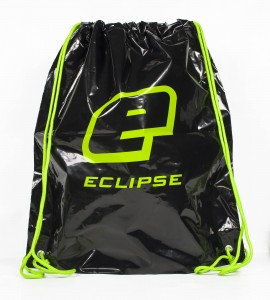 Eclipse Drawstring Bag Black/Green