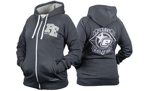 Eclipse Womens Varsity Zip Hoody