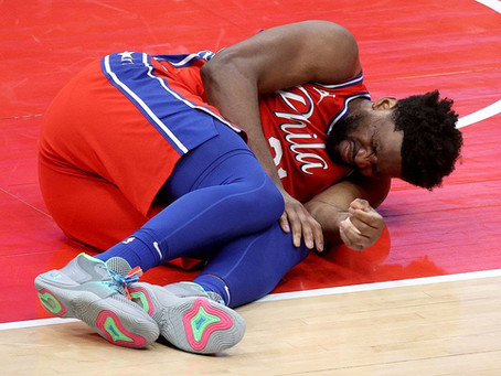 Pump Fake: Joel Embiid Avoids a Significant Injury, Out 2-3 Weeks