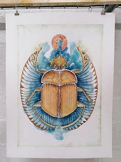 Le scarabée royal - AO Artiste - Anne-So