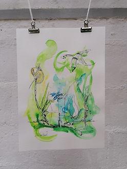SURVOL AUX AURORES - AO Artiste - Anne-S