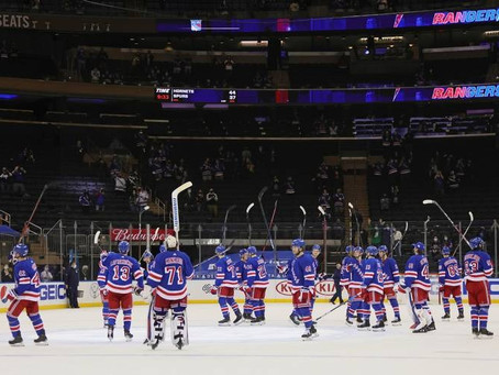 Puck Drop: Look Out For The New York Rangers