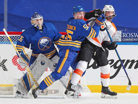 Puck Drop: March Recap: Sabres, Flyers Flounder