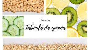 Taboulé de quinoa printanier