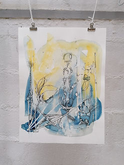 FONDS MARINS - AO Artiste - Anne-Sophie