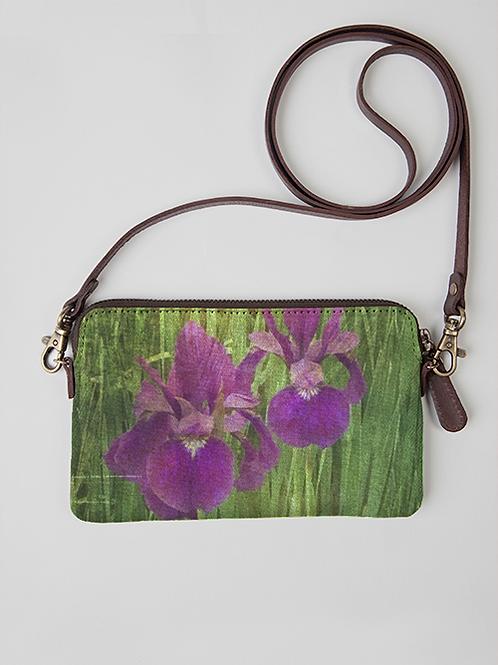 Iris Cloth Clutch