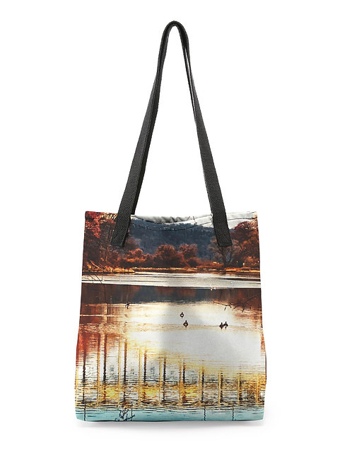 Henry Hudson Bridge Tote Bag