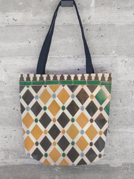 Alhambra Tile Tote