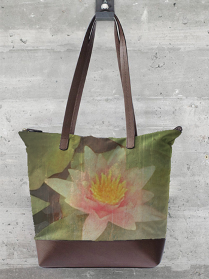 Water Lily Statement Bag