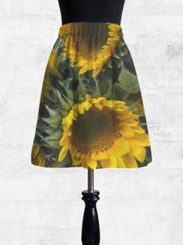 Sunflower Cupro Skirt