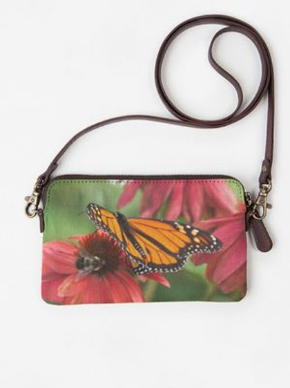 Butterfly and Bee Clutch