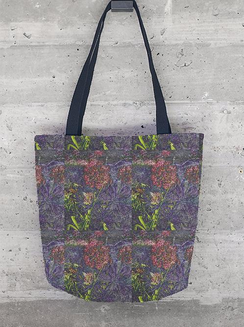 Purple Flowers Multi - Tote