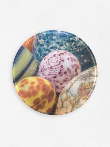 Orbs Glass Tray
