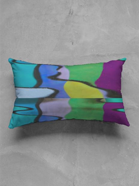 Reflection Oblong Pillow