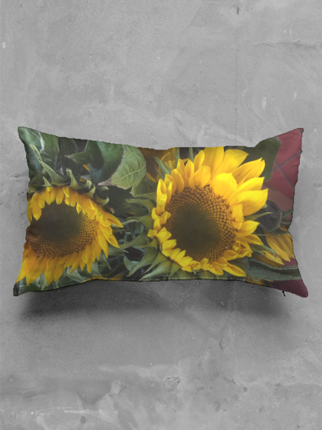 Sunflower Oblong Pillow