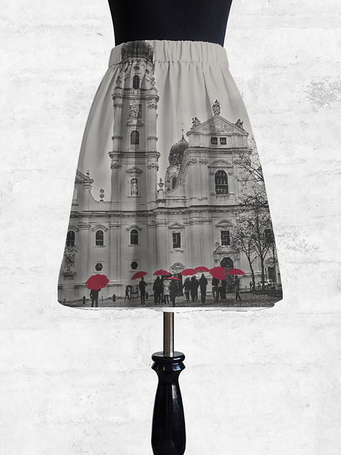Passau Cathedral Cupro Skirt