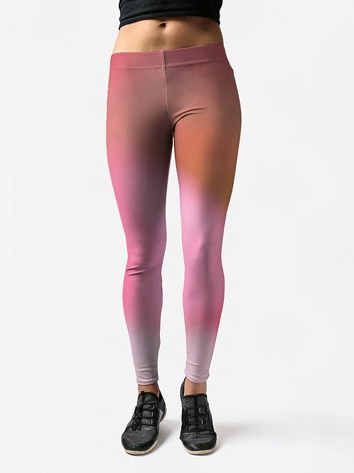 Fuzzy Pink - Leggings