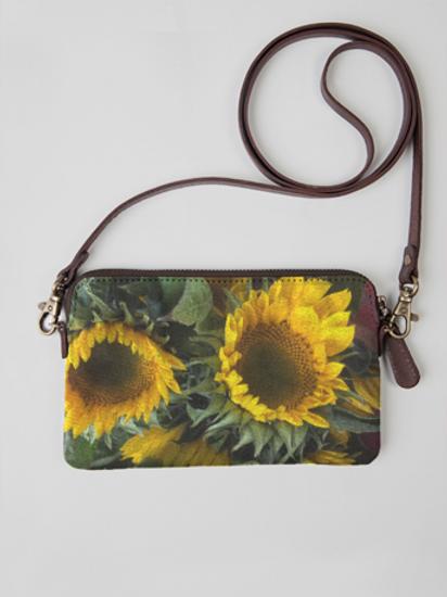 Sunflower Cloth Clutch