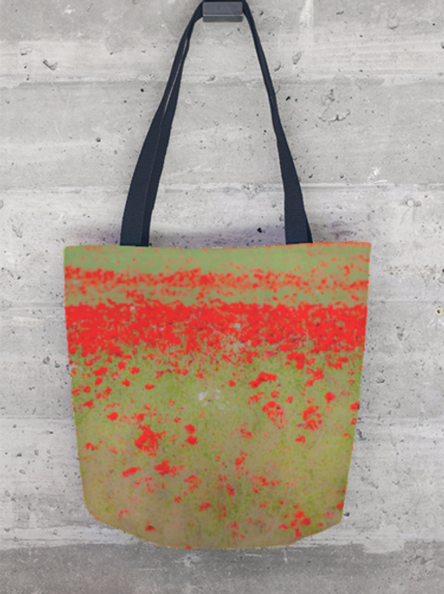 Poppies - Cloth Tote