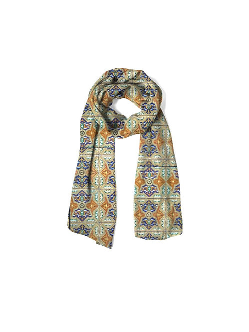 Mexican Tile Cashmere Scarf