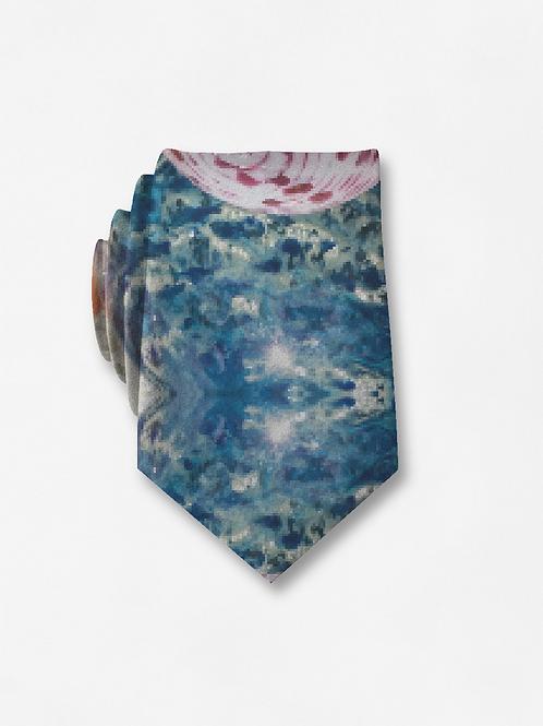 Multi Glass Balls - Silk Tie