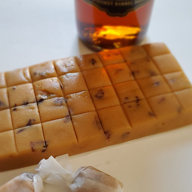 Brandy Old Fashioned Caramels and Caramel Sauce