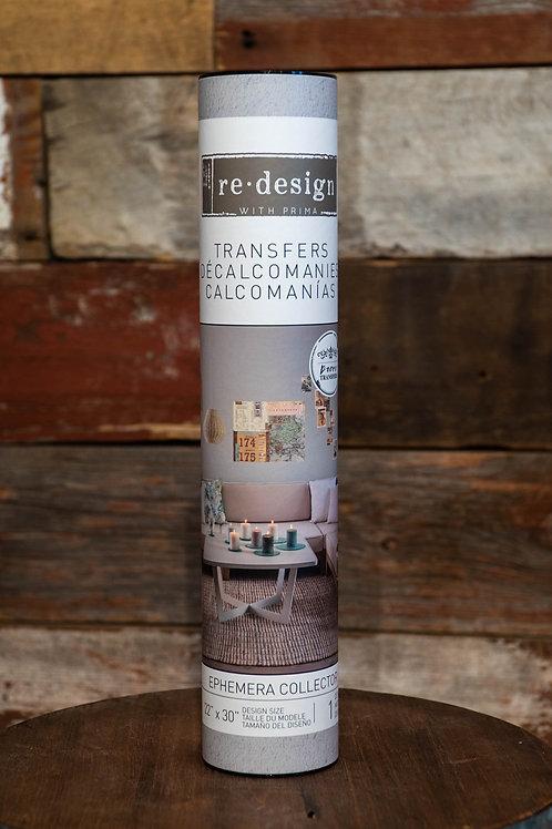 Redesign Decor Transfer - Ephemera Collection