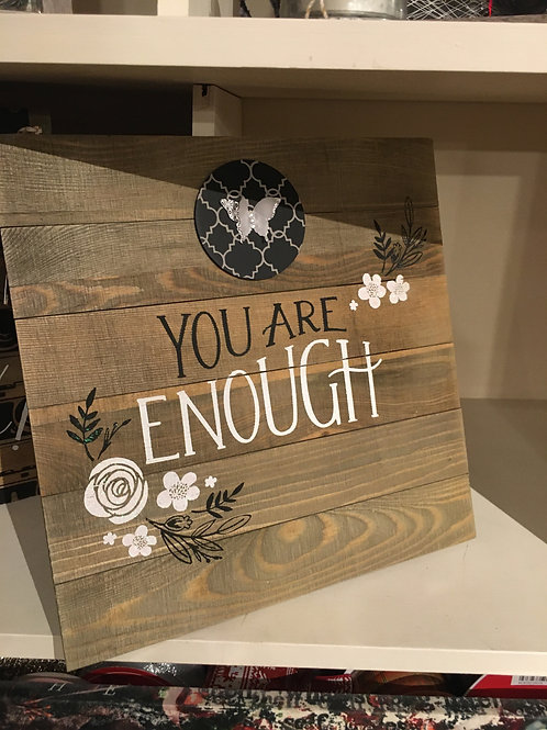 You Are Enough art