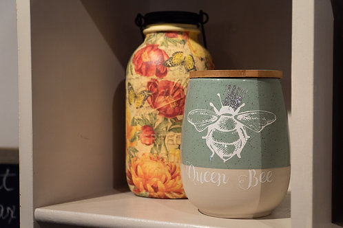 Queen Bee jar