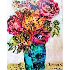 Mixed Media Bouquet