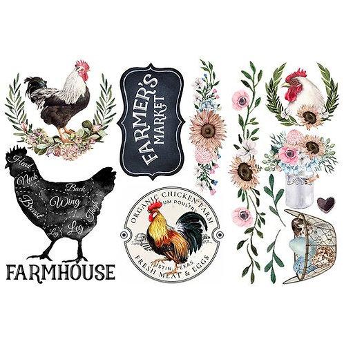 Decor Transfer - Morning Farmhouse