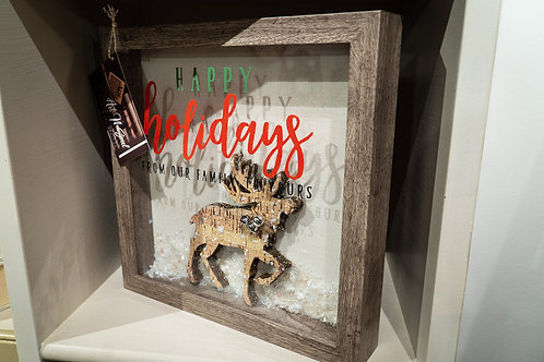 Holidays Shadow Box